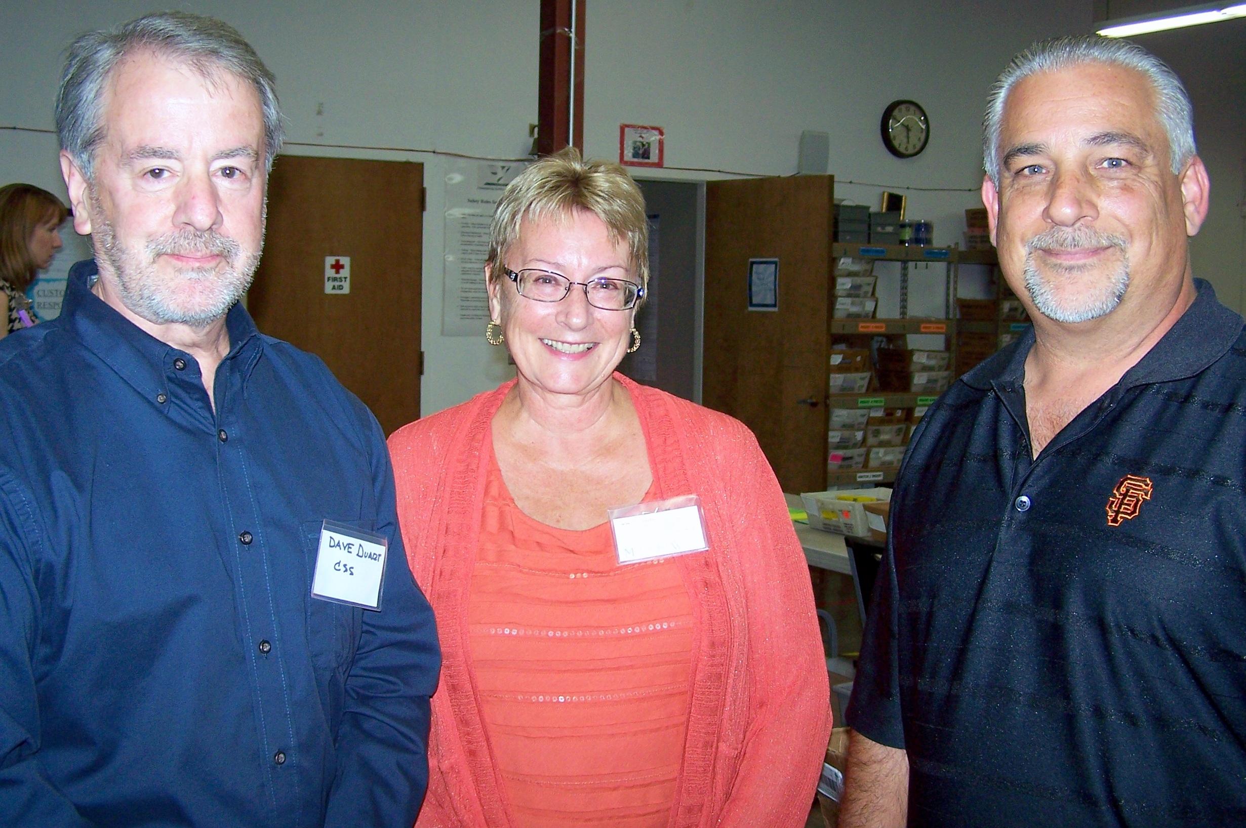 Dave, Monica & Robert Concord Mixer 9-13